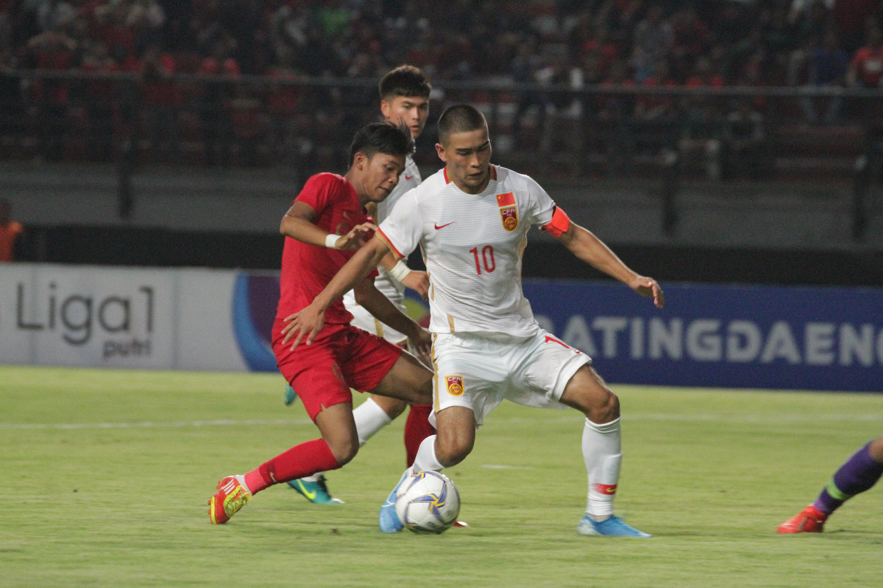 Image result for timnas u 19 vs china u-19