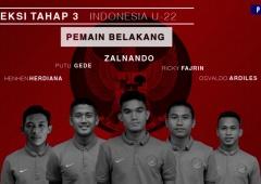 Seleksi Tim Nasional Indonesia U-22 Tahap 3