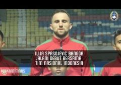 Ilija Spasojevic Bangga Jalani Debut Bersama Timnas