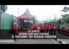Isi Waktu dengan Kunjungi Fanzone di 'Matchday' Timnas