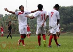 Timnas u17 vs Pra Pon Jakarta