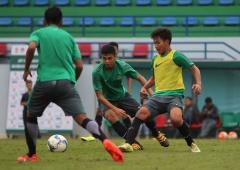 Latihan Timnas U19 - Youth Football Training Centre, Hanoi, Vietnam