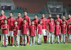 Indonesia vs Bahrain PSSI Anniversary Cup 2018