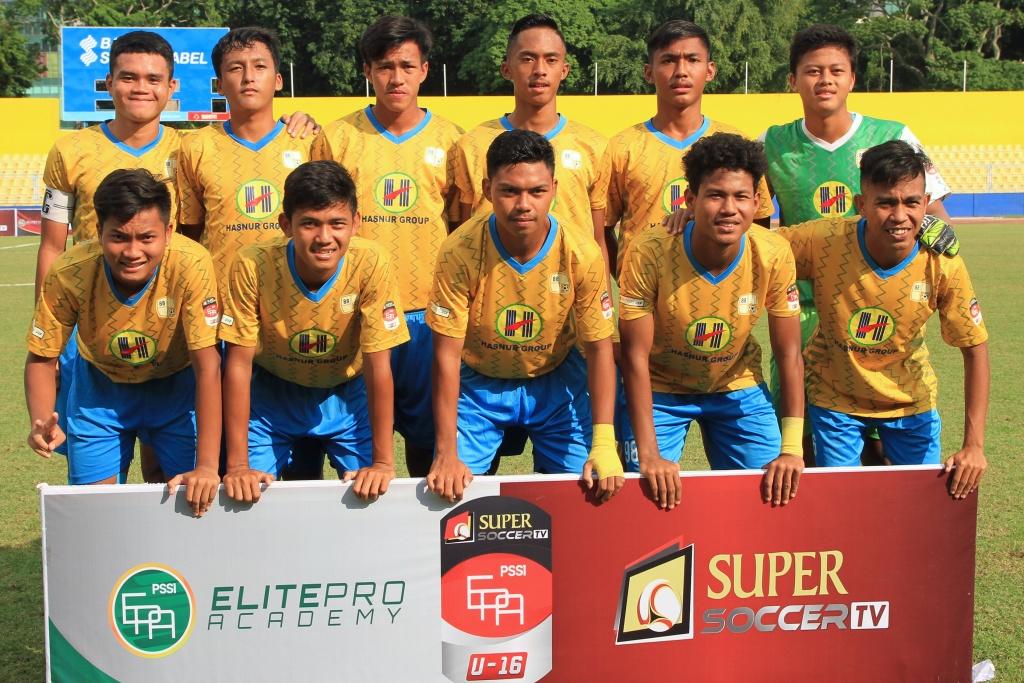 PERSIJA JAKARTA U-16 VS BARITO PUTERA U-16 EPA 2018