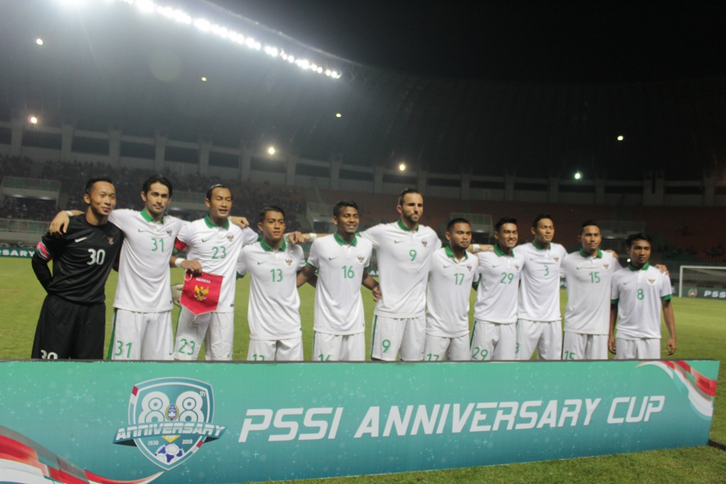 Indonesia vs DPR Korea PSSI Anniversary Cup 2018