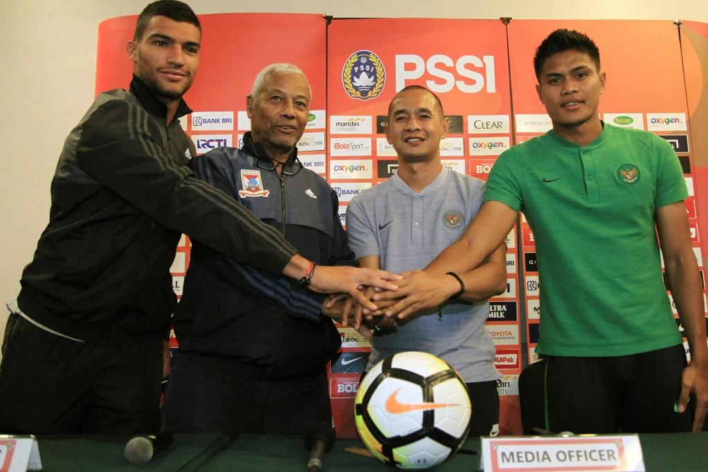 PRESS CONFERENCE INDONESIA vs MAURITIUS