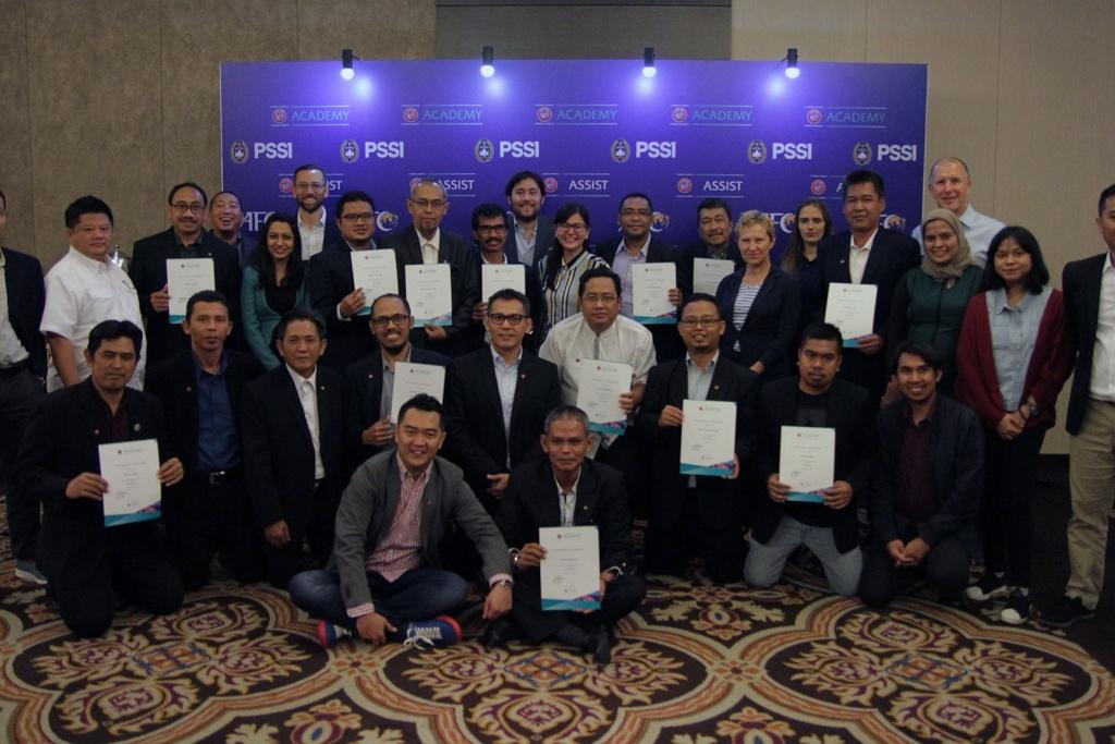 PROGRAM GS PSSI AFC UEFA