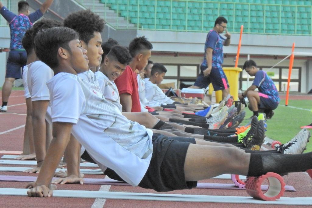 Pemusatan Latihan Timnas U16 di Bekasi
