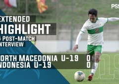U-19 International Friendly Match : North Macedonia 0 - 0 Indonesia