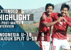 U-19 Friendly Match : Indonesia 4 - 0 Hajduk Split