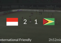 Indonesia vs Guyana