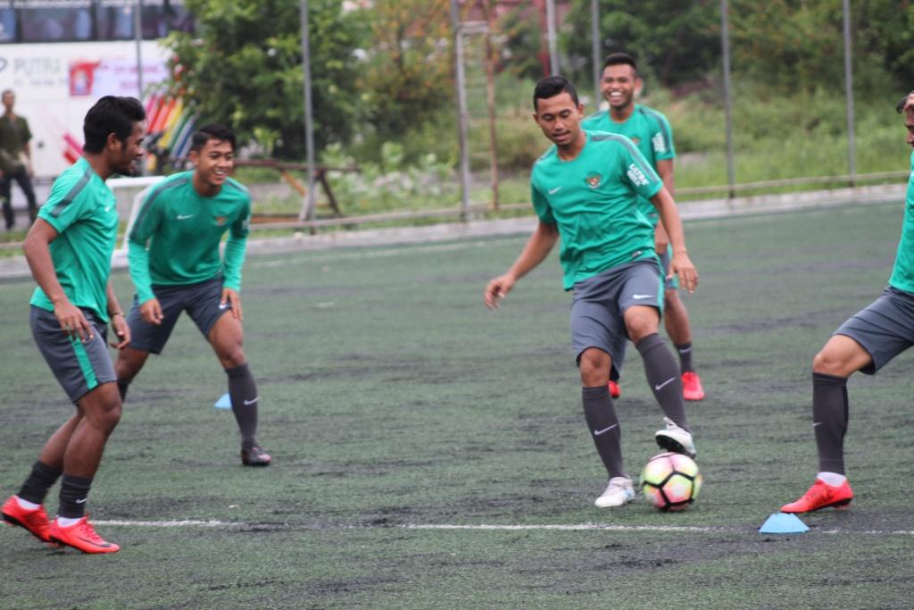 Latihan Tim Nasional Di Aceh
