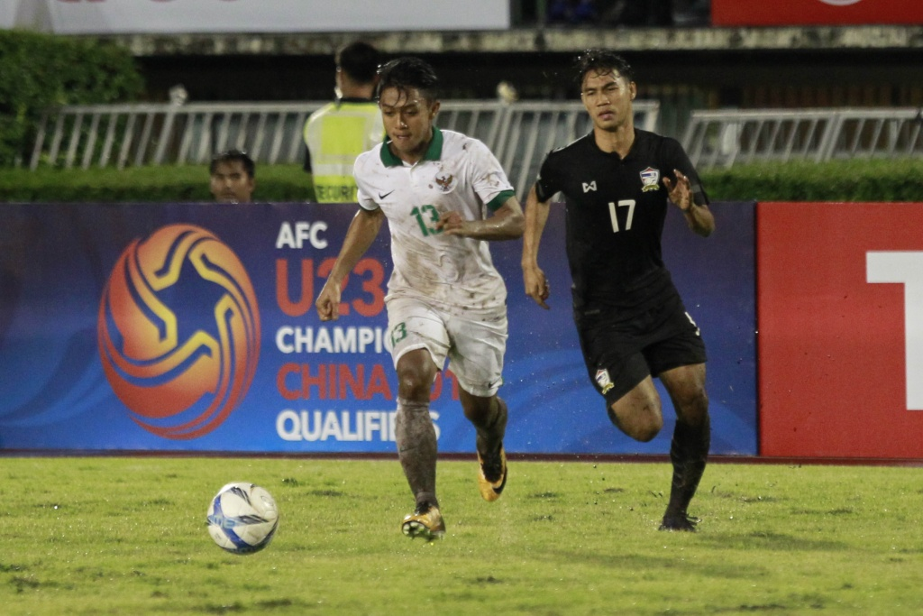 Timnas U-22 vs Thailand