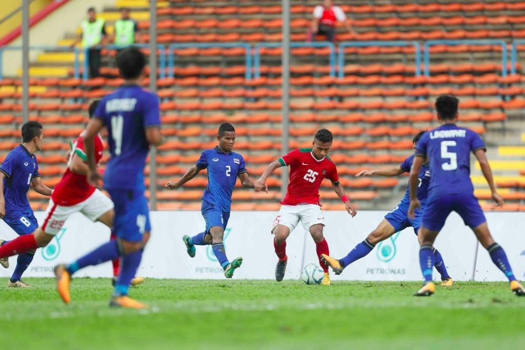 Indonesia vs Thailand di Ajang SEA Games 2017