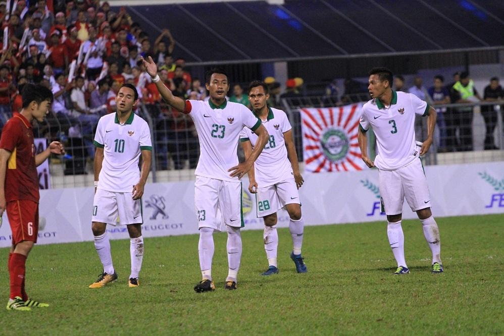 Timnas Indonesia vs Vietnam di SEA Games 2017