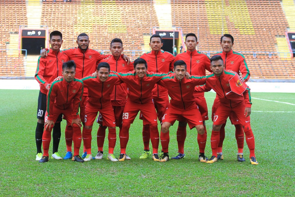 Timnas Indonesia vs Kamboja di SEA Games 2017