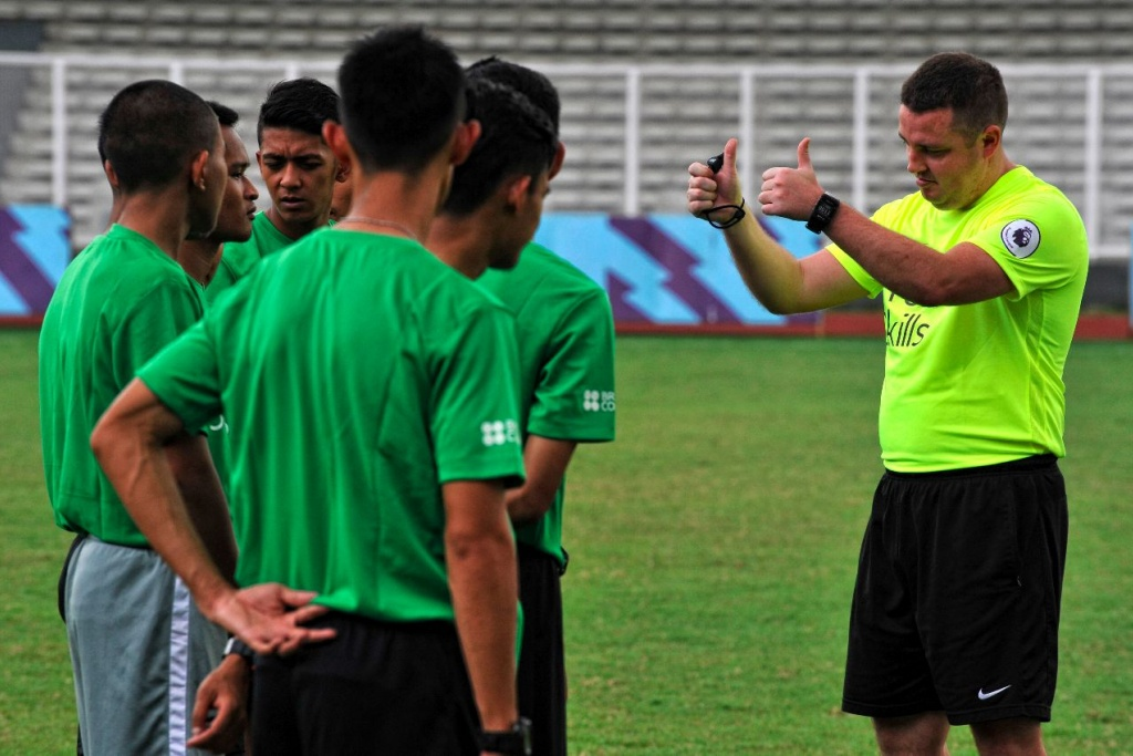 PSSI x British Council Referee Premier Skills Program