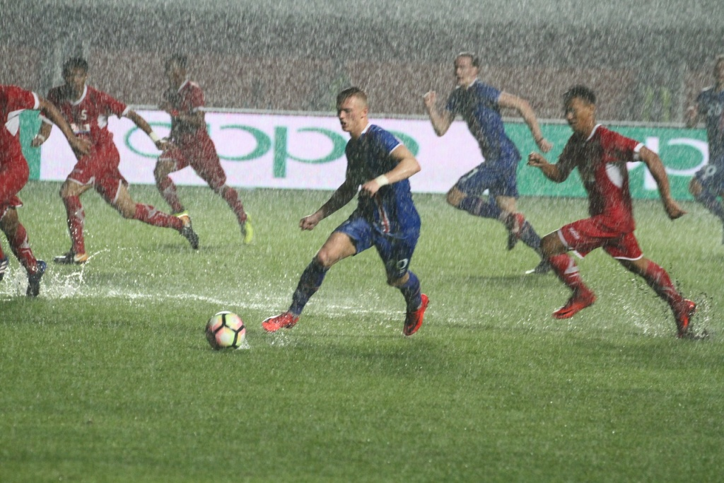 Indonesia Selection vs Iceland