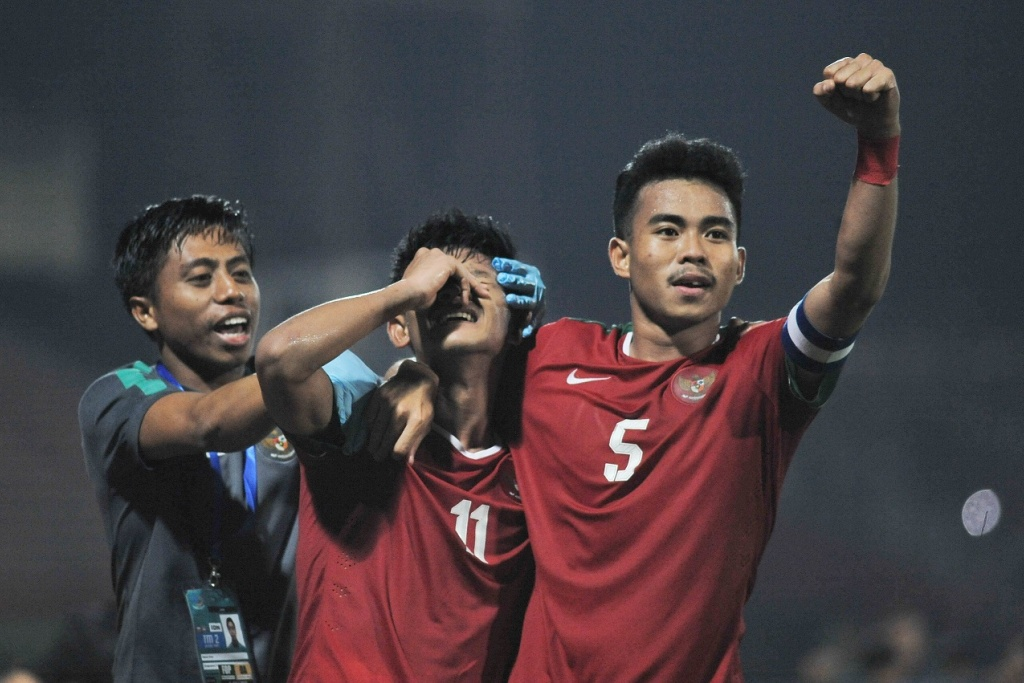 Indonesia vs Filipina AFF U-19 Championship 2018