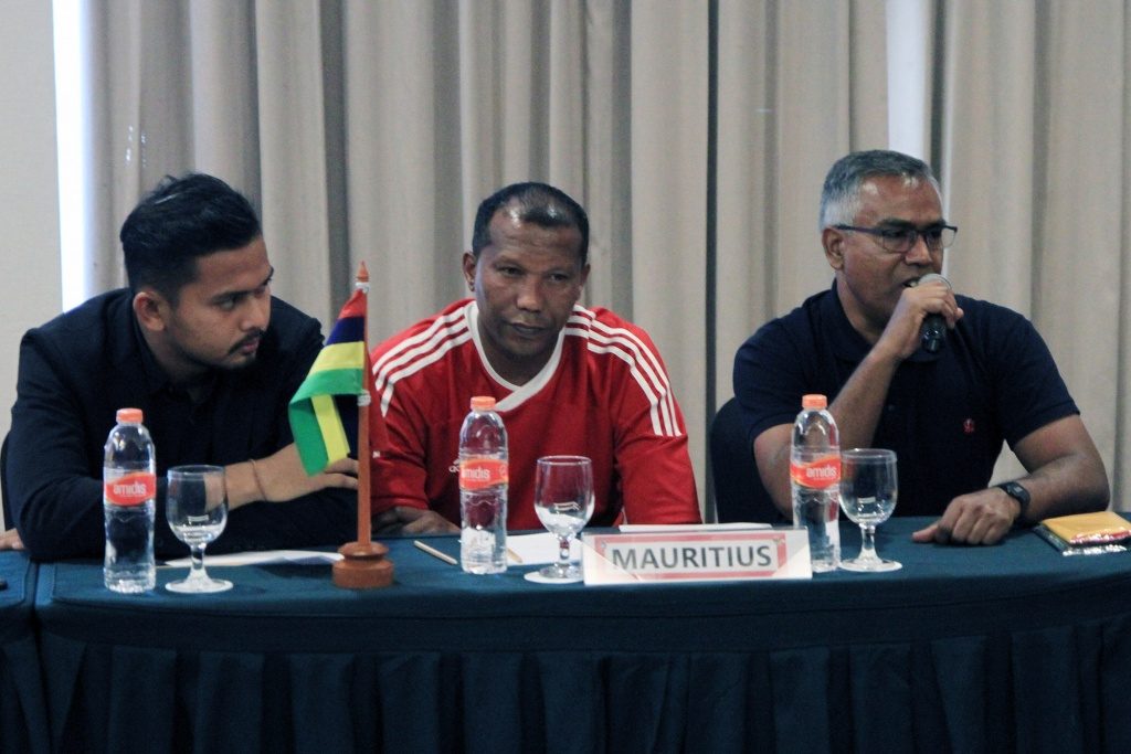 MATCH COORDINATION MEETING INDONESIA vs MAURITIUS