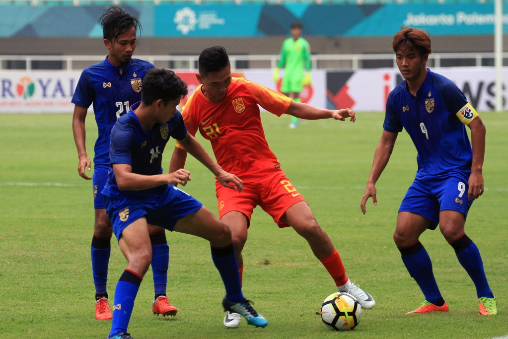 TIMNAS U-19 CHINA VS TIMNAS U-19 THAILAND