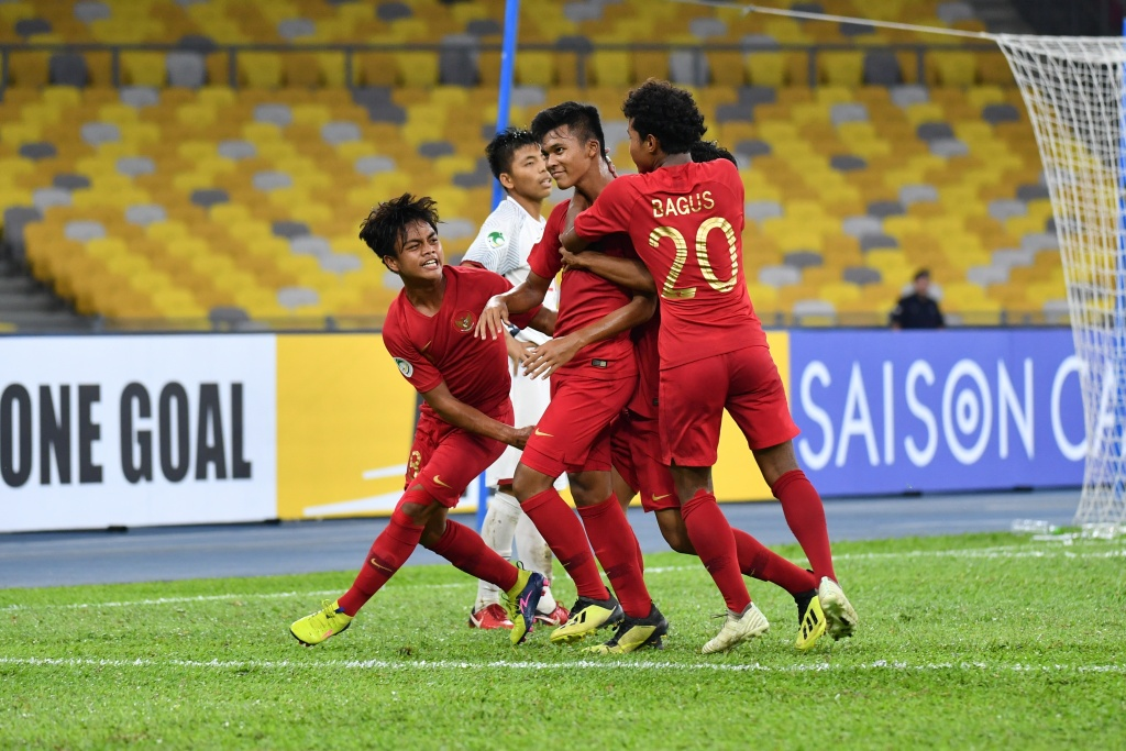 INDONESIA U16 VS VIETNAM U16