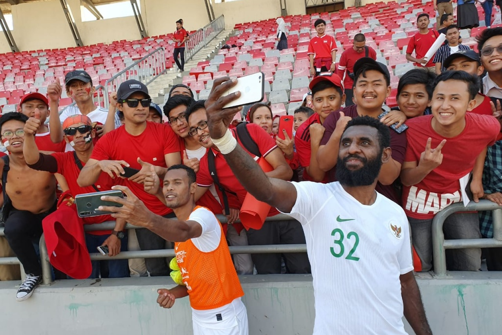TIMNAS INDONESIA VS TIMNAS JORDANIA FIFA MATCH DAY 2019
