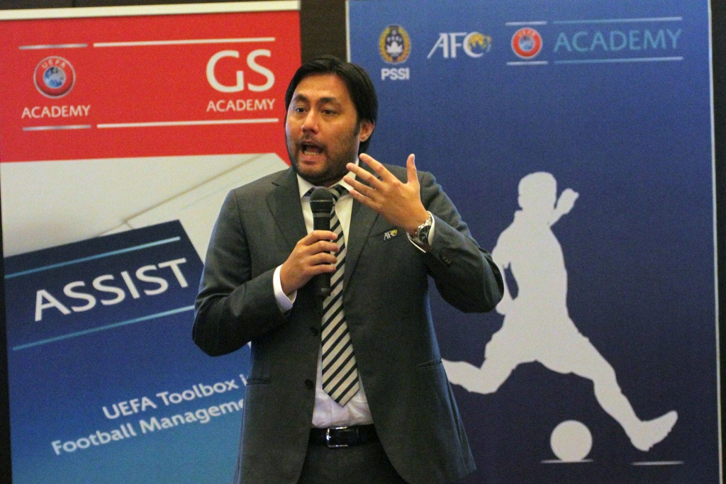 PROGRAM GS PSSI AFC UEFA