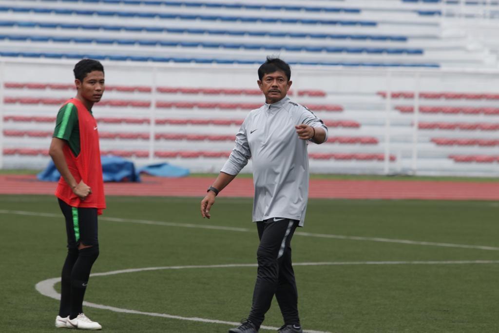 LATIHAN ADAPTASI TIMNAS U23 DI FILIPINA JELANG SEA GAMES