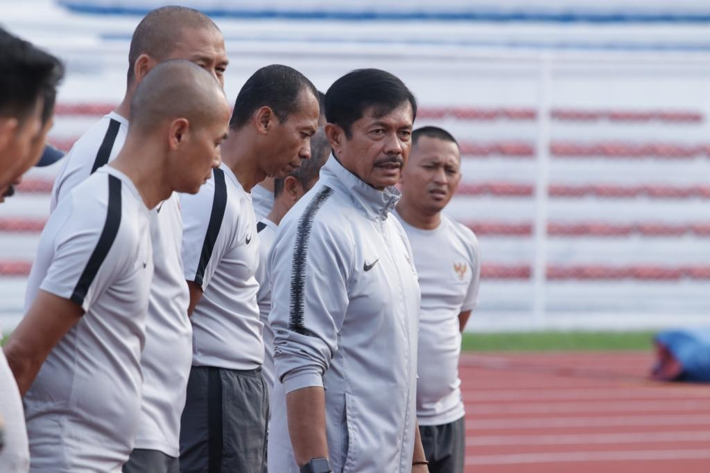 OFFICIAL TRAINING TIMNAS U-23 DI MANILA