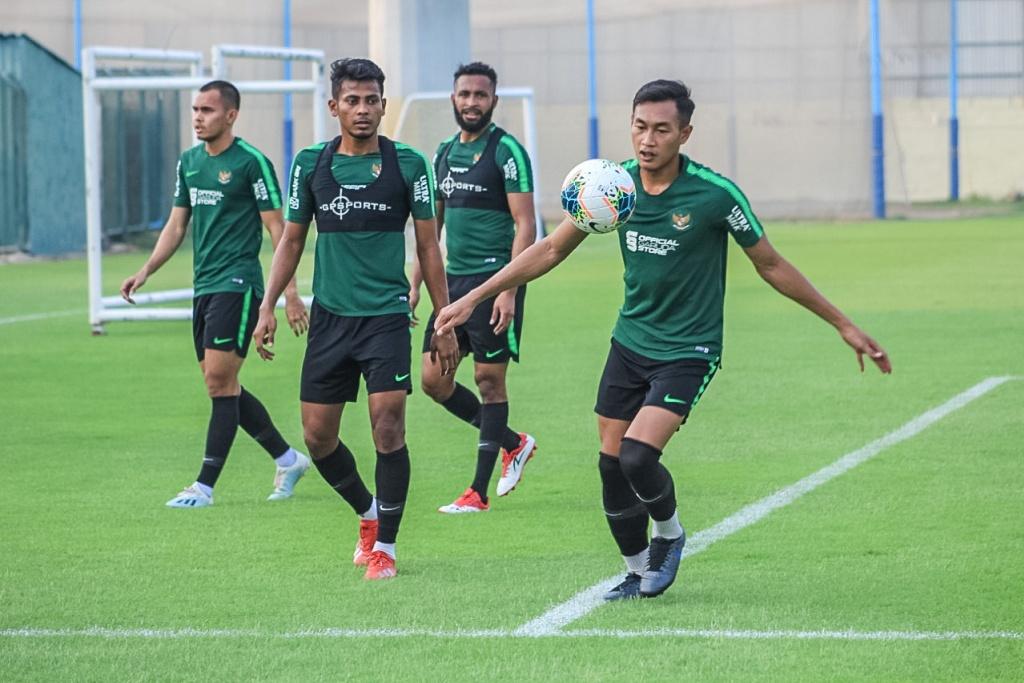 Timnas Senior Berlatih di Dubai