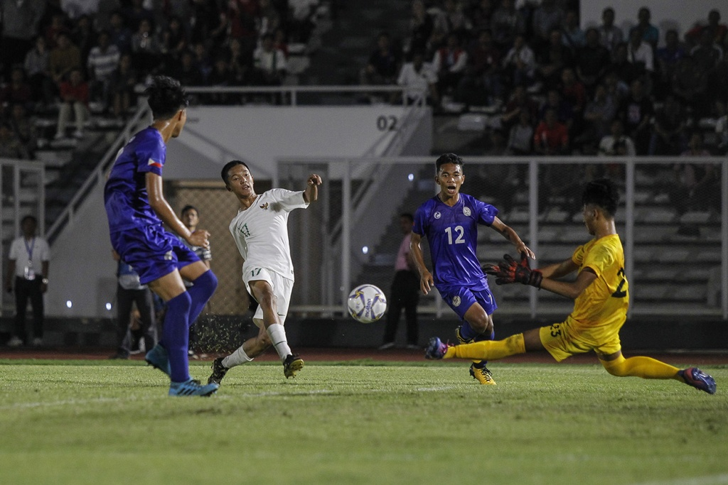 Philippines U-16 vs Indonesia U16
