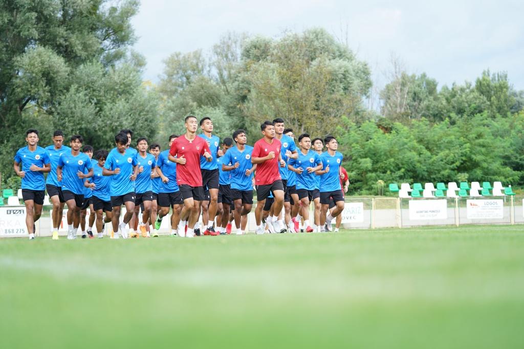 Latihan Perdana Timnas U-19 di Kroasia