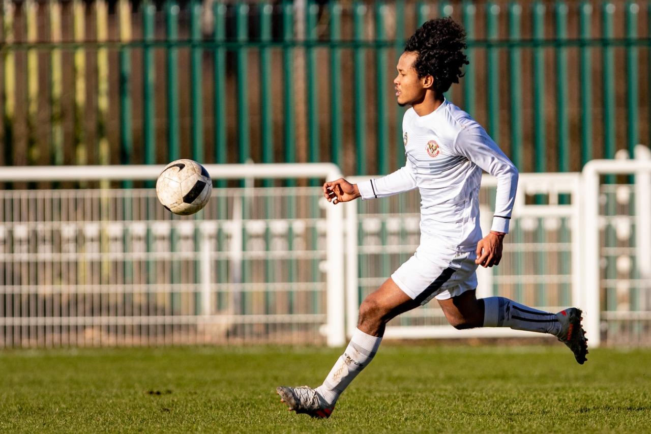 Potret Aksi Garuda Select Manghadapi Sheffield United U-18