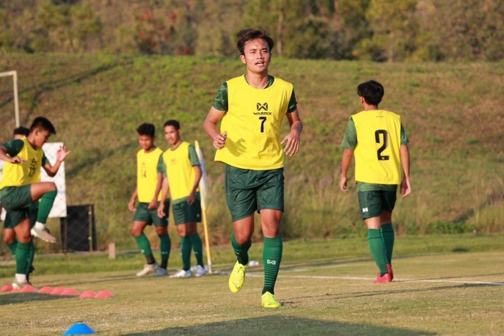 TC Timnas U19 di Thailand