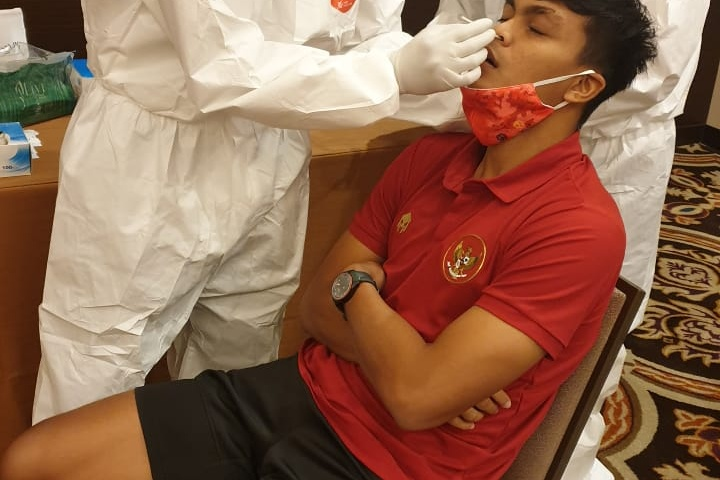 Swab Test Tim Nasional Indonesia (Senior dan U-19)