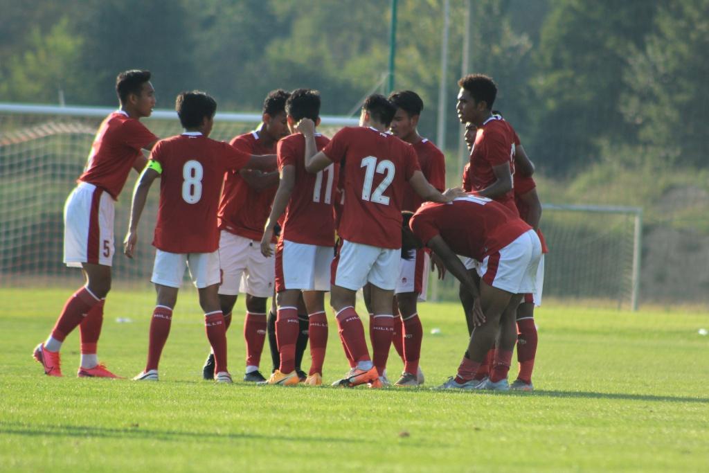 Aksi Timnas U-19 menghadapi Arab Saudi U-19