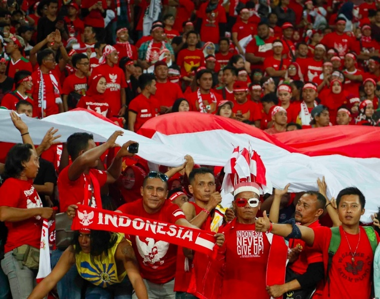 Milla: Dukungan Suporter Membuat Indonesia Bangkit