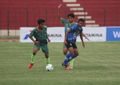 Perebutan Juara Tiga Pertamina Piala Soeratin U-15 2017