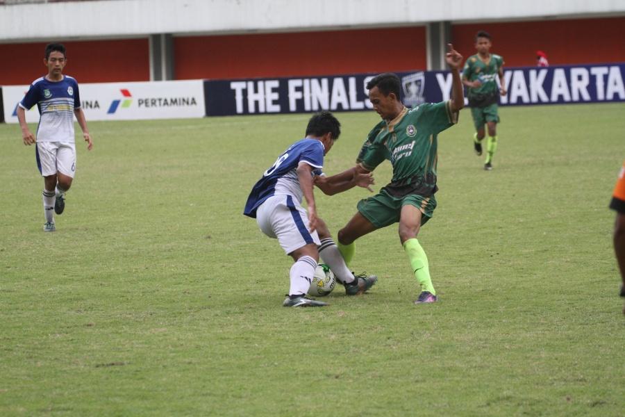 D.I Yogyakarta Peringkat 3 Pertamina Piala Soeratin U-15