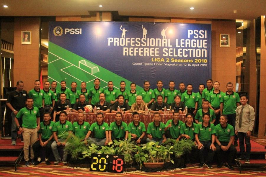 38 Wasit dan 35 Asisten Akan Memimpin Liga 2