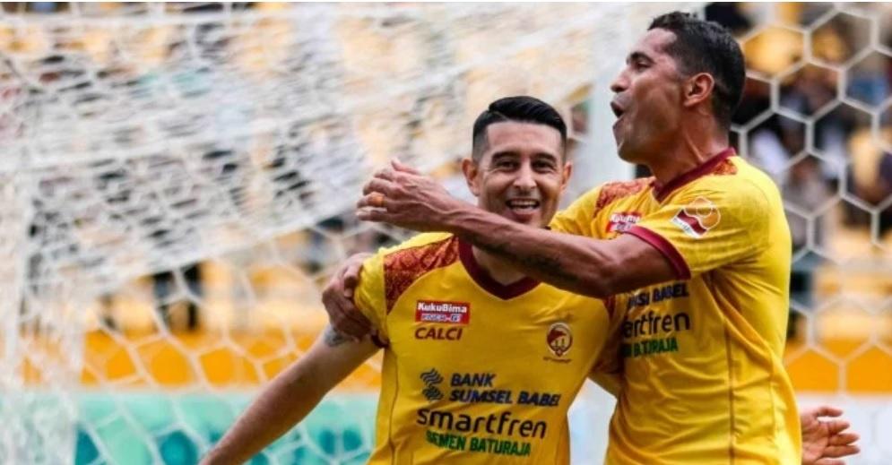 Sriwijaya FC Menang di Derbi Palembang