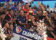 Persik Kediri Juara Liga 3 2018