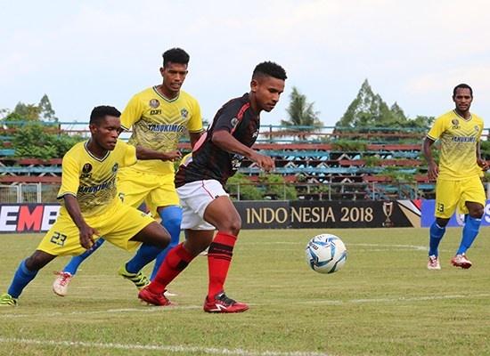 Persipura Lolos ke Babak 64 Besar Piala Indonesia 2018