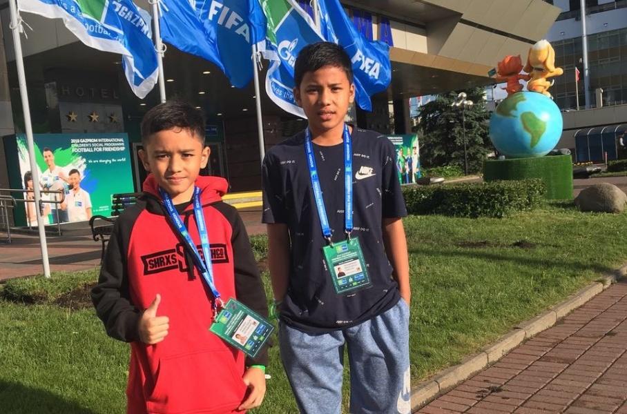 Anak Indonesia Ikut Parade Pembukaan Piala Dunia di Rusia