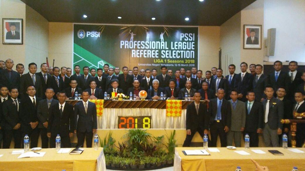 Jelang Liga 1, PSSI Gelar Seleksi Wasit