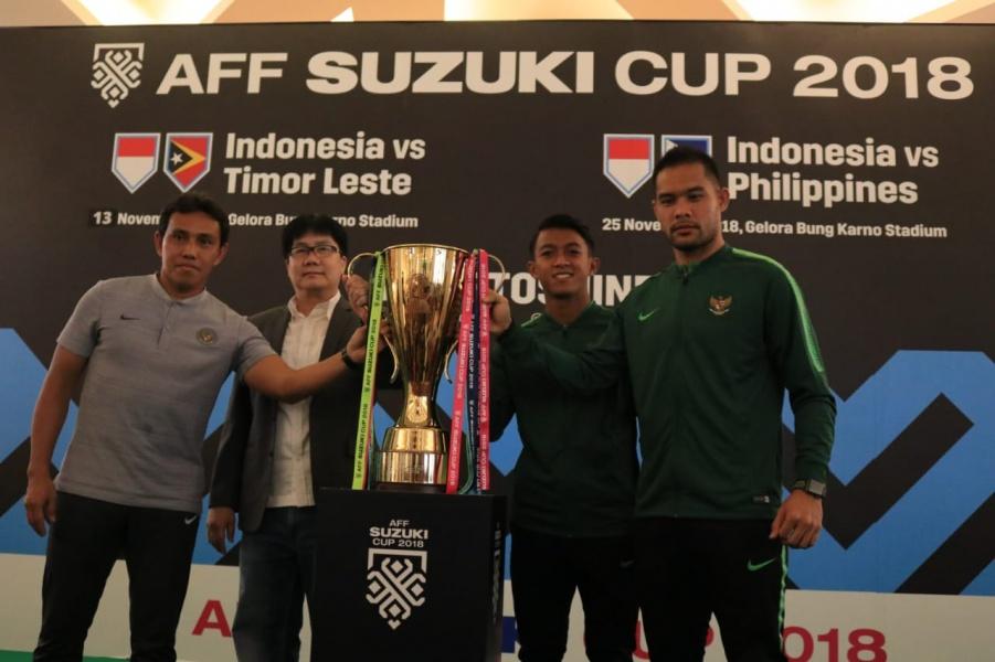 Skuat Garuda Optimis Meraih Juara di AFF Suzuki Cup 2018