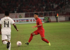 Debut Manis Alfath Fathier di Piala AFF Suzuki 2018