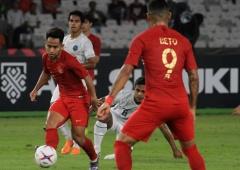Andik Pemain Terbaik Laga Indonesia versus Timor Leste