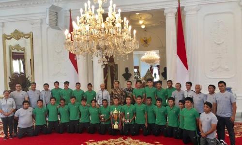 Presiden Jokowi Apresiasi Perjuangan Timnas U-16